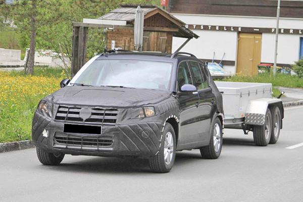 Volkswagen Tiguan прошел обновление