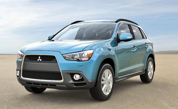 Mitsubishi ASX будет представлен на украинском  рынке в 6 комплектациях