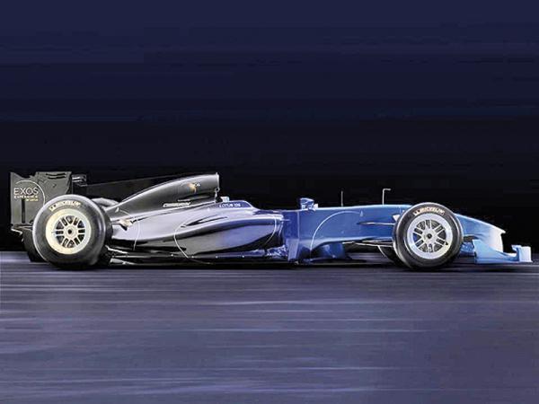 Lotus Exos Т125 – болид в свободной продаже