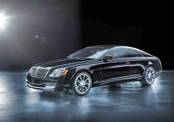 Maybach 57S стал купе