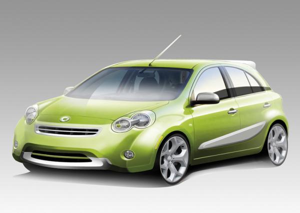 Новый Smart Forfour создадут совместно с Nissan