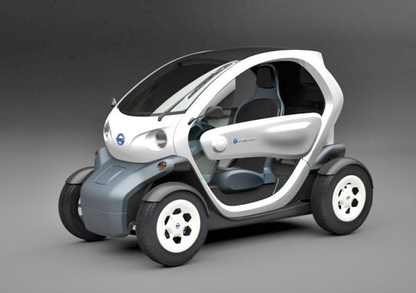 Nissan представил электромобиль New Mobility Concept