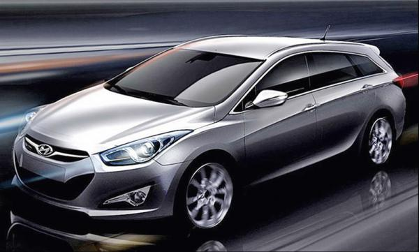 Hyundai Sonata: первые фото универсала