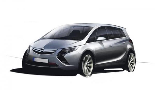 2011 год: в ожидании новых премьер. Opel Zafira