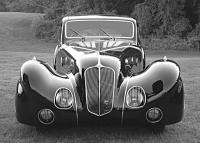 Delahaye 135 от Figoni et Falaschi отличались особым буйством фантазии в дизайне кузовов