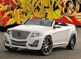 Недавно стартовавший в Европе Mercedes-Benz GLK на SEMA был представлен c концептуальным кузовом кабриолетом