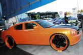 Dodge Charger – диски диаметром 26 дюймов, окрашенные в цвет кузова, позволяют совсем по-другому воспринимать автомобиль