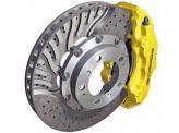 Вентилируемый диск в разрезе