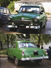 """Одна и та же """"Волга"""" ГАЗ-21 снималась во многих наших любимых фильмах (""""Берегись автомобиля"""", """"Три тополя на Плющихе"""", """"Бриллиантовая рука""""), при этом меняя только цвет"""
