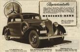 """На таком Mercedes-Benz 230, 1938 года выпуска, ездил герой Вячеслава Тихонова в сериале """"Семнадцать мгновений весны"""""""