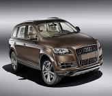 Audi Q7 – презентация обновленного автомобиля
