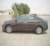 Hyundai Sonata проходит тесты в Дубае