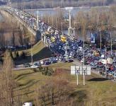 Киев. Ограничивается движение транспорта