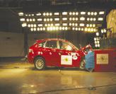 Краш-тест:  Subaru Impreza 2.0R
