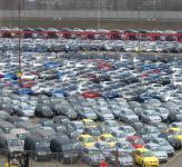 Импорт автомобилей в Россию увеличился на 34,5 процента