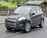 Обновленный Ford Kuga проходит испытания