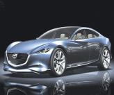 Mazda покажет в Париже концепт Shinari