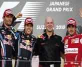 F1: Три гонки – три претендента
