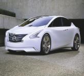 Nissan Ellure: концептуальный седан будущего