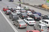 Порушення рядності - порушення правил розташування транспортних засобів на дорозі