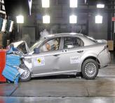 Краш-тест: Alfa Romeo 159