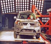 Краш-тест: Mitsubishi Outlander