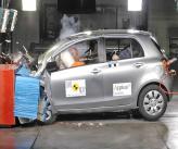 Краш-тест: Toyota Yaris