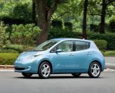 Nissan начал европейские продажи электромобиля Leaf