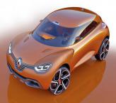 Renault Captur Concept: прототип будущего вседорожника