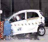 Краш-тест: Citroen C-Zero