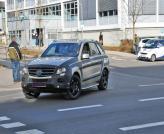 Mercedes-Benz ML-Class проходит тесты