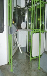 На киевских автобусах начнут устанавливать турникеты