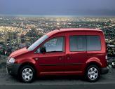 Электрический Volkswagen Caddy проходит испытания