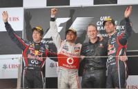 Подиум Гран-при Китая