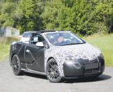 Кабриолет Opel Astra проходит испытания