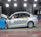 Краш-тест: Volkswagen Jetta