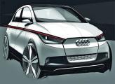 Audi готовится к показу электромобиля  A2