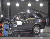 Краш-тест: Mercedes-Benz M-Class
