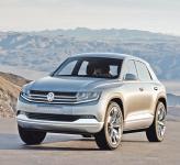 Volkswagen Cross Coupe: спортивный вседорожник