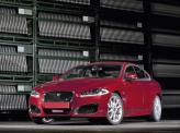 Jaguar XFR можно отличить по увеличенным воздухозаборникам