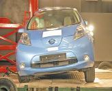Краш-тест: Nissan Leaf