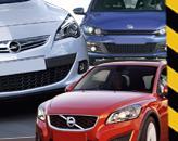 Opel Astra GTC, Volkswagen Scirocco и Volvo C30: хетчбэки с душой купе