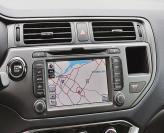 Для Kia Rio теперь доступна навигационная система