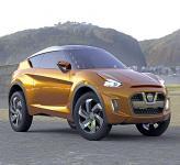 Nissan Extrem: вседорожное купе