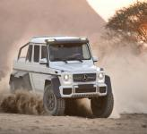 Mercedes-Benz G63 AMG 6x6: король бездорожья