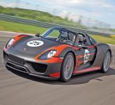 Porsche 918 Spyder: триумф современных технологий