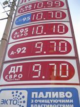 Акциз на бензин хотят удвоить
