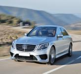 Mercedes-Benz S63 AMG: спортивность – не помеха комфорту