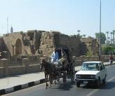 Особенности дорожного движения в Египте