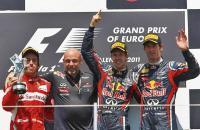 Подиум Гран-при Европы